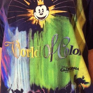 Disney Shirts - Vintage Walt Disney World of Color Graphic Tee